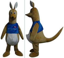 Canada Costume de mascotte de kangourou adulte cheap adult kangaroo mascot Offre