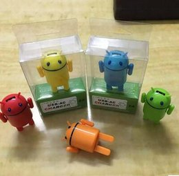 Wholesale Galaxy S3 Mini Wholesale - Selling good USB-AC cute charger 2A cellphone mini cartoon universal adapter for iPhone 6 iphone 6plus Samsung galaxy S3 S4 S6
