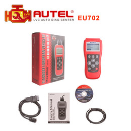 Wholesale Scanner Maxidiag - Wholesale-2016 Top Selling AUTEL Maxidiag EU702 OBD2 II EOBD CODE SCANNER READER DHL free shipping