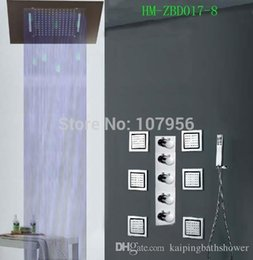 Wholesale Cheap Led Mirrors - Cheap Mirror Led Shower Set Best Guangdong Rainfall Shower Heads Led Shower