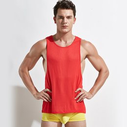 Wholesale Cheap Gym Clothing - Wholesale-5PCS LOT Tank Top Wear Clothing Gym Singlet Cheap Basketball Gym Jerseys Stringer Men Shirt For Bodybuilding Throwback DX199-5