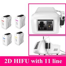 Wholesale Two Lift - hifu wrinkle removal Weight Loss Beauty Machine Two year warranty 2d hifu 2017 face lifting beauty equipment