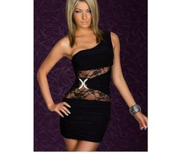 Wholesale Hot Sexy Mini Mixing Dress - Hot Sale Sexy Dress Mix Styles Clubwear Ladies Party Dress Fashion Dresses With G-string High Quality