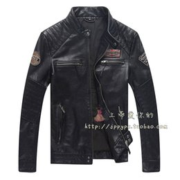 Wholesale Women Sheepskin Jacket - Fall-2016 Hot Lambskin Biker Jacket For Lovers Genuine Leather Jacket For Women And Men Unisex Natural Sheepskin Leather Motor Jacket