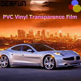 Wholesale Painting Pvc Doors - Rhino Skin Sticker Car Full Body Paint Protection Film PVC Vinyl Clear Transparence Film Car Auto Decal 1.52*15m Roll