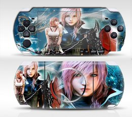 Wholesale Games Posts - PSP3000 Film Stickers Posted Colorful Stickers Skin Sticker In Body Stock Game Machine Handle Film Colorful Personality Color Paste