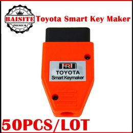 Wholesale Obd Toyota Smart Key Maker - 50pcs lot toyota smart Keymaker OBD for 4D Chip Toyota Smart Key maker OBD for 4D chip Support Toyota Lexus Smart Key PROGRAMMING