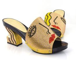 Wholesale Wedding Shoe Buy - 2016 new Unique design african woman hot buying high heel shoes KL16-04