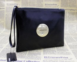Wholesale Lady Makeup Cosmetic Bag - Fashion Brand Mimco Wallet Women PU Leather Purse Wallet Large Capacity Makeup Cosmetic Bags Ladies Luxury Shopping Evening Bag