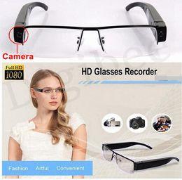 Wholesale Spy Cameras Glasses - Full HD 720P or 1080P espion Glasses Camcorder Hidden Spy Camera Eyewear Cam DVR Digital Video Recorder (Not include Memory Card)