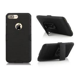 Clip Ceinture Hybrid Hard PC Case Pour Iphone 7 I7 Plus 6 6S SE 5 5S Camo 3 en 1 Stand Caoutchouté Antichoc Cell Phone Cover Mode 150pcs ? partir de fabricateur