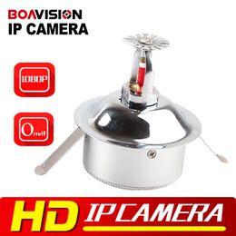 Wholesale Spy Wires - HD Network Mini Spy Dome IP Camera Hidden 2MP 1080P Security Low Lux P2P CCTV IP Cam ONVIF XMEye 3.7mm Lens Wifi POE Audio Optional