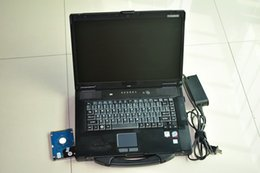 Wholesale German Auto Repair - auto diagnostic laptop Toughbook CF-52 95% new ram 4g with 1tb hdd works for bmw icom mb star c4 one year warranty
