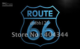 Wholesale Road Signs - LB371-TM Historic Route 66 Mother Road Neon Light Sign NR Advertising