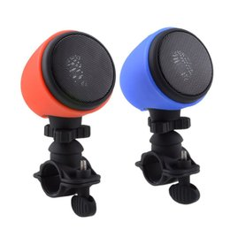 Wholesale Outdoor Sports Center - MA-861 outdoor sport bicycle speaker mini portable wireless Bluetooth 3D stereo speaker with mic hands-free V spill pulse rugby 31-YX