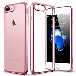 Wholesale Cell Phone Covers For Cheap - Electroplating tpu personalised cheap phone cases cell phone covers for Iphone x 8 7 6 6s plus