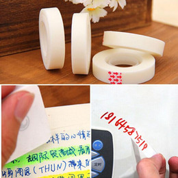 Wholesale Invisible Writing - Invisible Adhesive tape masking tape Wedding car Decorative stickers Stationery Scrapbooking sticky Non-trace tape Can write Erasable tape