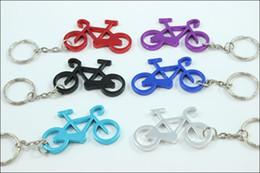 Wholesale Cute Bicycles - Free Shipping + Wholesale Cute Bike Bicycle Metal Beer Bottle Opener keychain key rings for bike wa4081