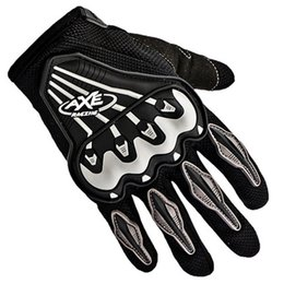 Wholesale Mens Sports Gloves - Wholesale- Goofit 2015 New Brand Mens Motorcycle Bicycle driving gloves Full Finger Gloves Letters Printing Outdoor Sports Gloves GOL011