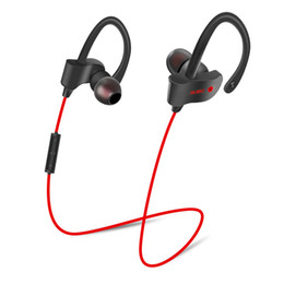 Wholesale Mp3 Mp4 Earphone - Original Sports Wireless Bluetooth Earphones Stereo Earbuds Headset Bass Headphones with Mic In-Ear for iPhone 6 Samsung Phone