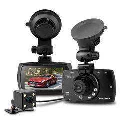 Wholesale H 264 Dual Lens Car - Blackview G30B Dual Lens Car DVR H.264 Front camera Full HD 1280*1080P External Rear Camera 720*480P Dash Cam Allwinner A10 CPU