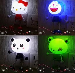 bierflasche nacht lichter Rabatt Neue 2016 Smart Cartoon LED-Licht kleines Nachtlicht Plug-in elektrische Nachttischlampe Optisch gesteuertes kleines Nachtlicht MQ50