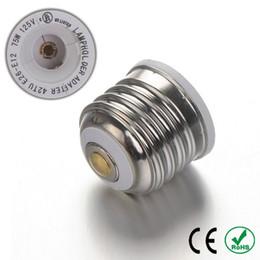 conversor led bulb Desconto E26 para E12 Base Adaptador Conversor Adaptador Da Lâmpada Titular da Lâmpada para lâmpadas led CE ROHS