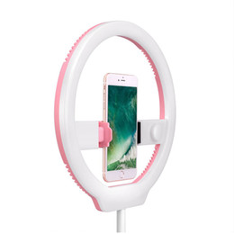 Wholesale Yongnuo Video Light - YONGNUO YN128 Photography LED Ring Light 3200K-5500K Dimmable Ring Live Video Lamp for iPhone 8 7 7plus Smartphone Nikon Canon DSLR Camera