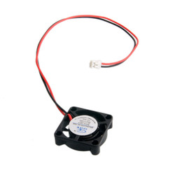Wholesale Brushless Electric Rc Cars - 2PCS RC Model Bearing Sleeve Brushless DC Fan Cooling DC 12V 0.08A 25*25*7mm