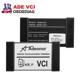 Wholesale Bmw J2534 - ADEONOR ADE VCI J2534 OBD2 Auto Diagnostic Tool For Vehicles Diagnosis and Maintenance With Multi-languages