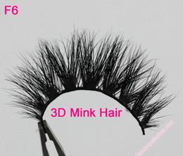 Canada F6 Livraison Gratuite 100% Réel Siberian 3D Vison Full Strip Faux Cils Longue Cils Individuels Mink Lashes Extension Offre