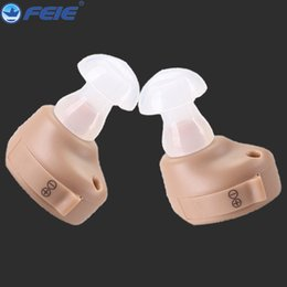 Wholesale Hearing Aid S Cheap - Mini Hearing Aids Cheap Sound Amplifier Analog Ear Machine Mini In the ear hearing aid S-212 Free Shipping