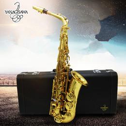 Wholesale Yanagisawa Alto - Original Yanagisawa New W01 A 901 alto saxophone E-flat YANAGISAWA & Metal mouthpiece professional musical instruments Shipping