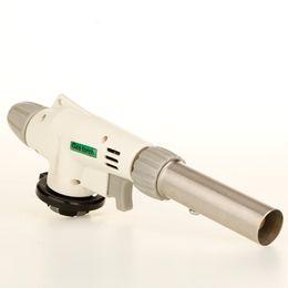 Wholesale Heating Torch - 2015 hot Gas lighter Torch lighters Flame Gun lighter Welding Solder Blow Jet Burner Burning gas Iron Lighter Auto Ignition Heating BB