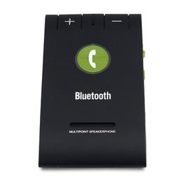 mp3-плеер 1g Скидка DHL 2016 Bluetooth автомобильный комплект 6E солнцезащитный козырек громкой связи громкой связи музыкальный плеер Multipoint Speaker Phone Auto Connect With Mic