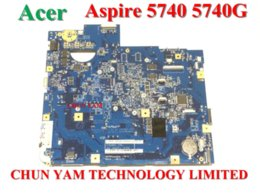 Wholesale Brand Acer Aspire - 100% Brand New Original Laptop Notebook Motherboard for Acer Aspire 5740 5740g MainBoard Systemboard MB.PMG01.003 55.4GD01.441G