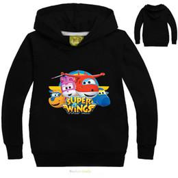 Argentina 2017 niños ropa Super Wings camiseta Baby Girls Boy camiseta de manga larga Enfant Garcon sudaderas con capucha sudaderas ropa de algodón supplier baby boy sweatshirts Suministro
