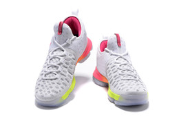 Wholesale kd shoes low cheap - kd9 White Unlimited University Red mens Basketball Shoes cheap kd 9 kevin durant sneakers 2016 summer New arrival mens sport shoes US7-12