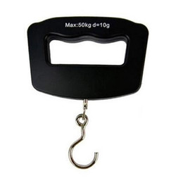 Wholesale Electronic Fishing Hook Scale - S5Q 50kg LCD Fishing Hanging Hook Portable Electronic Scale Weight Lage Scale AAAGCW