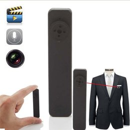 Wholesale Mini Dvr Button - Portable Spy Mini Button Camera Built-in 8GB Hidden pinhole camera Mini DV DVR Voice Video Recorder Surveillance Camcorder 5pcs lot