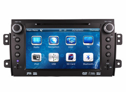 Wholesale Sd Audio Player For Car - Car DVD Player for with Suzuki SX4 2006-2012 with GPS Navigation Radio BT USB SD AUX Map Audio Video Stereo