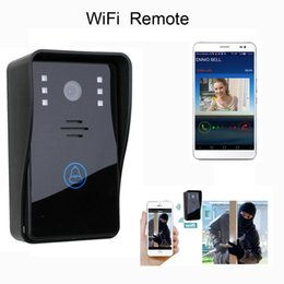 Wholesale wireless door camera intercom - Hot New Wholesale New Wireless Wifi Remote Video Camera Phone Intercom Door bell Home Security hot B484