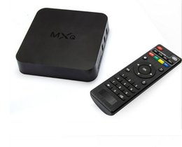 Wholesale Xbmc Media Tv Box - MXQ Android TV Box Quad Core Amlogic S805 MXQ Media Player With XBMC skylive Fully Load Update Smart TV Box