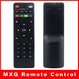 Wholesale Replacement Remote Controls Tv - High Quality IR Remote Control For Android TV Box M8N M8C M8S M10 M12 MXQ Replacement Remote Controller MXQ remote control