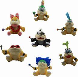 Wholesale Mario Play Game - 2016 New Genuine Super Mario Bros yoshi Figure dinosaurand roid watchtoys Figure play SuperMario toys doll 7styles