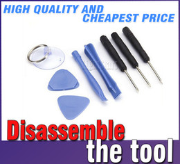 Wholesale Cell Phone Opening Repair Tools - Cell Phone Reparing tools 8 in 1 Repair Pry Kit Opening Tools Pentalobe Torx Slotted screwdriver For Apple iPhone 4 4S 5 5s 6 moblie phone
