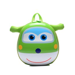 Wholesale Character School Bags For Boys - Kids Baby Cartoon School Bags 3D Super Wings Jett Backpack For Kindergarten Girls Boys Cute Schoolbag Children's Gift