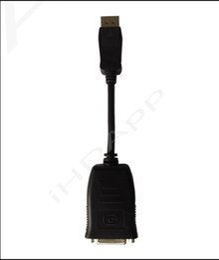 Canada Active Display Port DP à DVI DVI-I Dual Link Câble adaptateur AV pour carte graphique PC Noir New Eletronic Hot hot new Offre