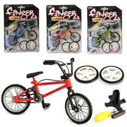 Wholesale Motorcycle Kids Bike - 2017 New Alloy finger bikes Strange new desktop toys finger bicycle for Christmas Gift C3148