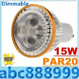 Canada E27 E26 PAR20 15W a mené le CREE Dimmable GU10 MR16 d'ampoules mené de lampe de tache allumant les lumens élevés chauds / natrual / blanc froid 720lm CA 110-240V Offre